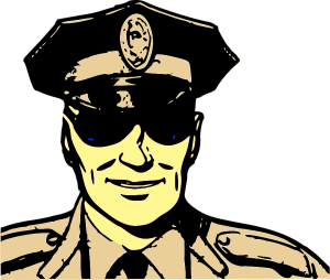 Christmas Cop Origin
