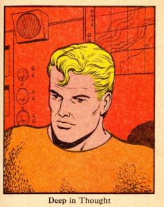 Aquaman Deep In Thought