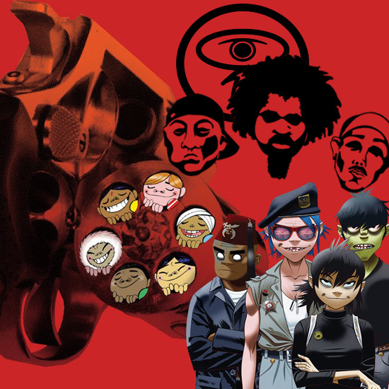 Gorillaz - Dilated Peoples