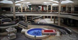 deteriorating mall
