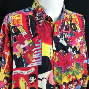Beatles Hawaiian Shirt