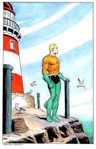 Ramona Fradon Reflective Aquaman