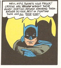 batman talking to you