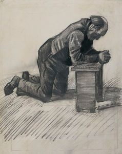 'Old_Man_Praying',_drawing_by_Vincent_van_Gogh